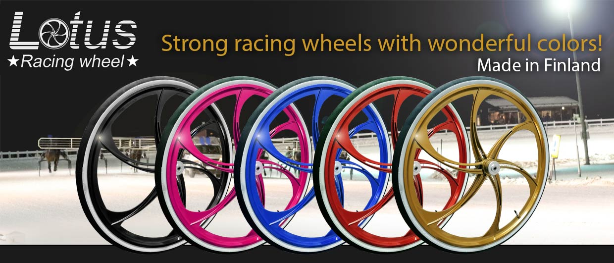 Lotus racing wheels