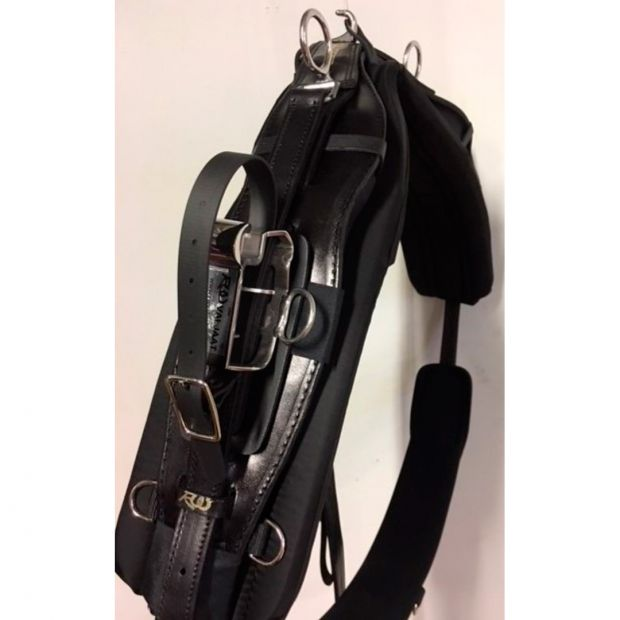 RW Harness TWisted3D Harness complete QH synthetic