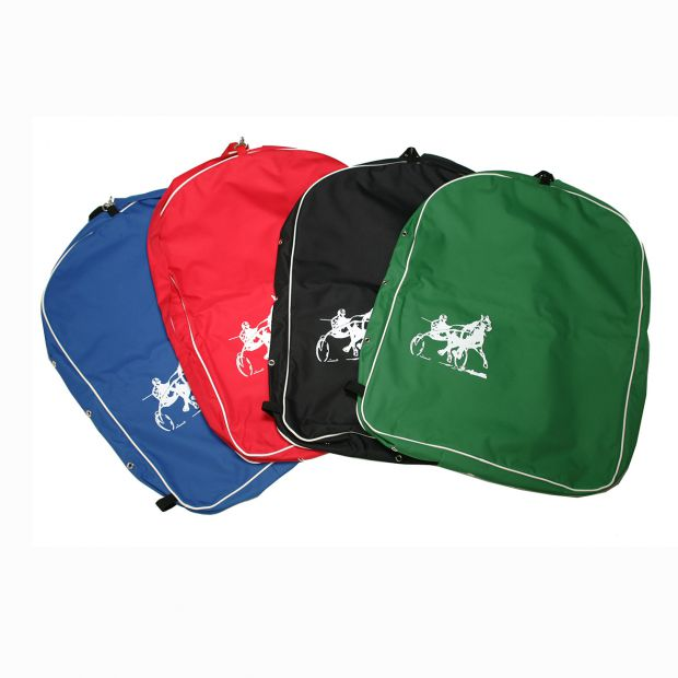 Harness bag with trotting logo
