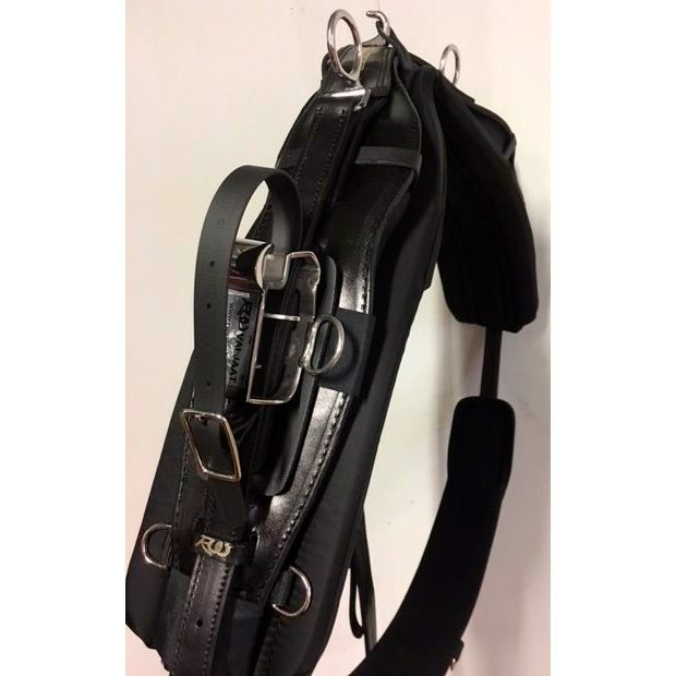 RW Harness TWisted3D Harness kit training QH 10cm leather