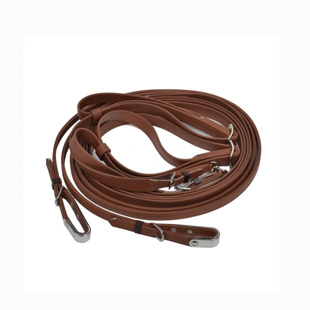 Star Tack Trotting reins synthetic Beta