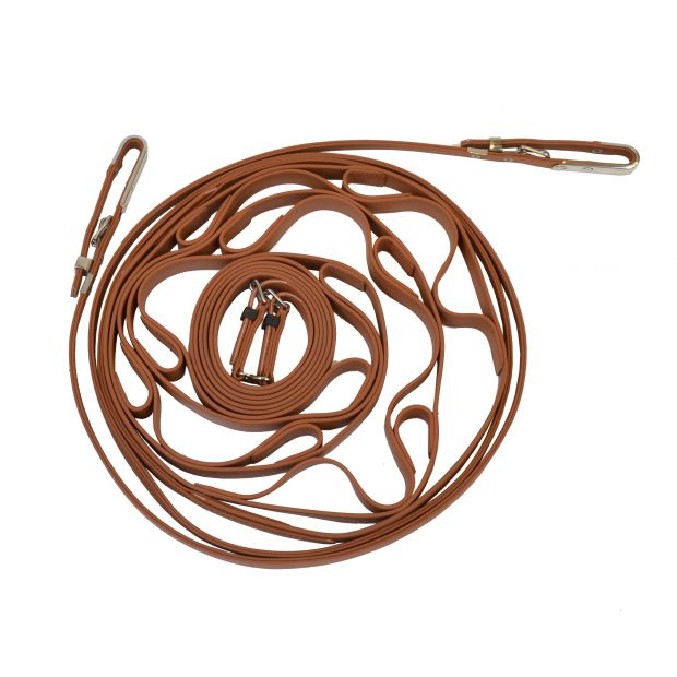 Star Tack Training reins french model synthetic