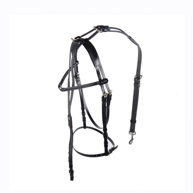 Walsh Open bridle with overcheck synthetic