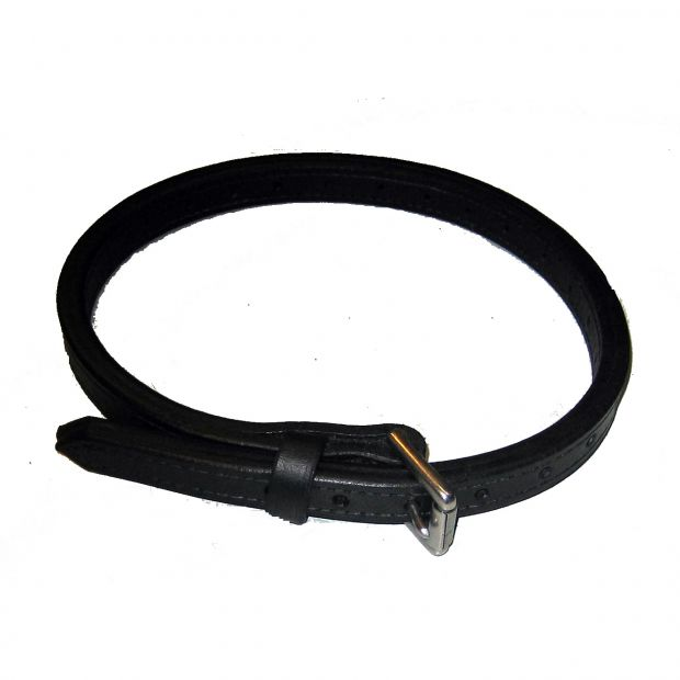 Breast strap for collar with buckle