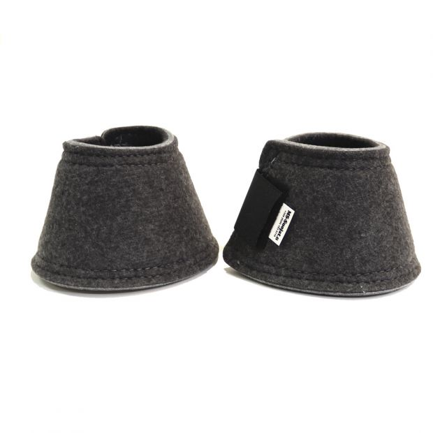 MS bell boots with double velcro closures