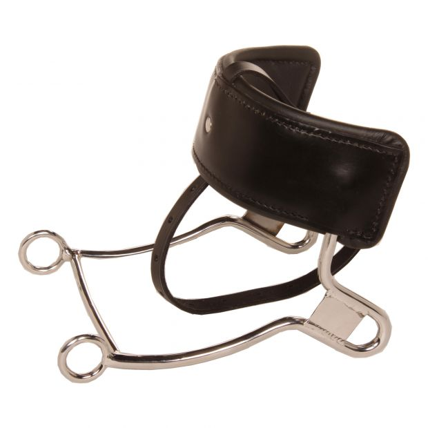Raymond leverage bit Anatomic, with wide leather padding