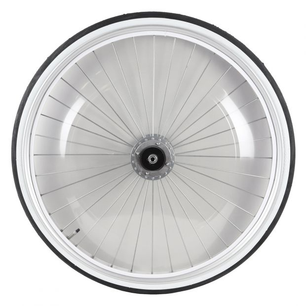 "Sulky wheel standard 28"" with PVC-covers"