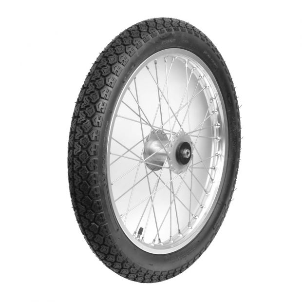 Trainingcart wheel stainless Jumbo 19 x 3""