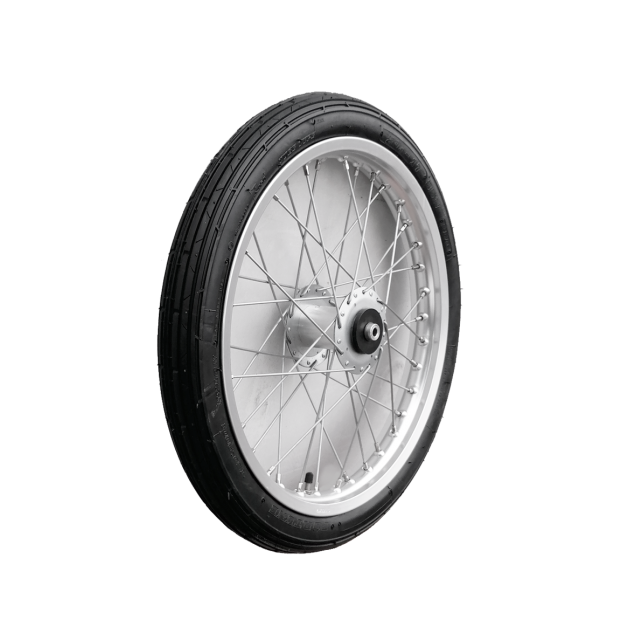 Pony Training cart wheel stainless 17x2,25""