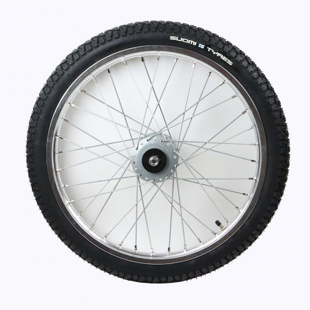 "Speedcart wheel with Suomi-Tyres 19"" x 2.25"""
