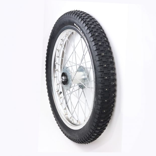 Training cart wheel with Studs 17 x 2.75 pc