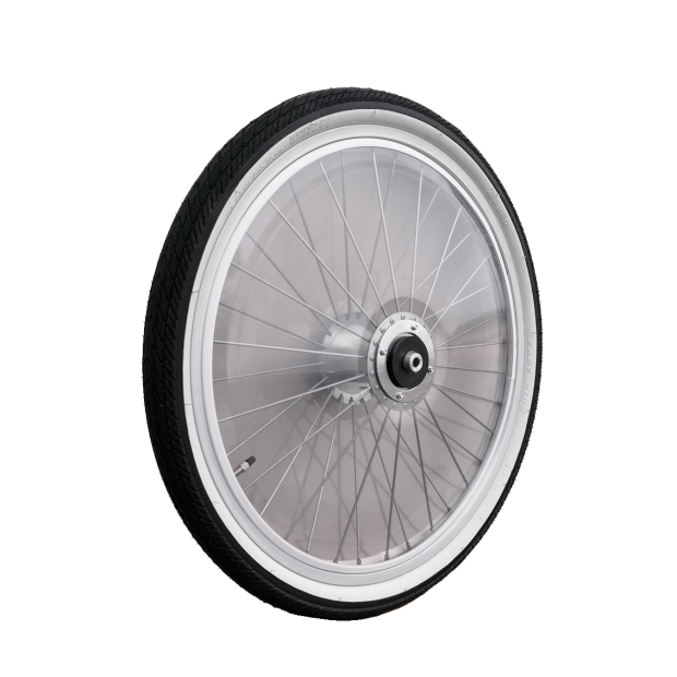 "Pony Sulky wheel 22"" standard with PVC-covers"