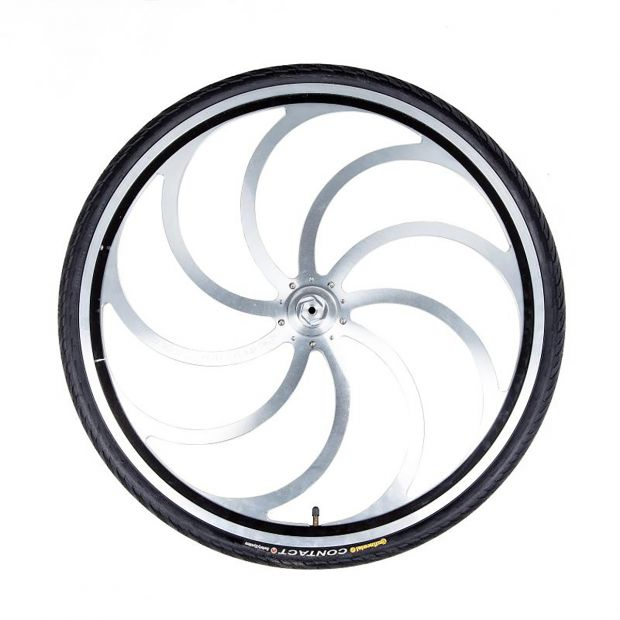 "Nitro sulky wheel 28"" curved spoke, pc"
