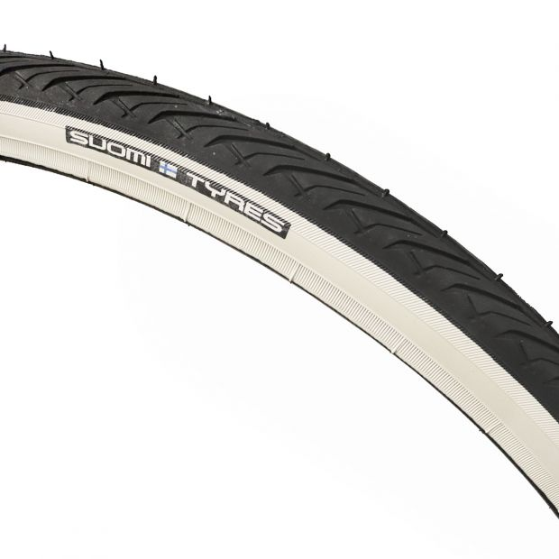 "Suomi-Tyres Tyre 28"" to sulky wheel"