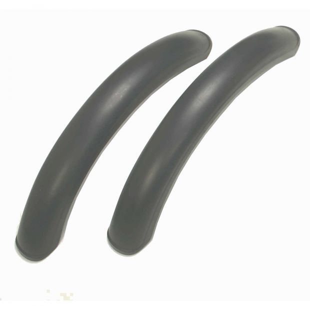 Mud guards for speed cart, pair