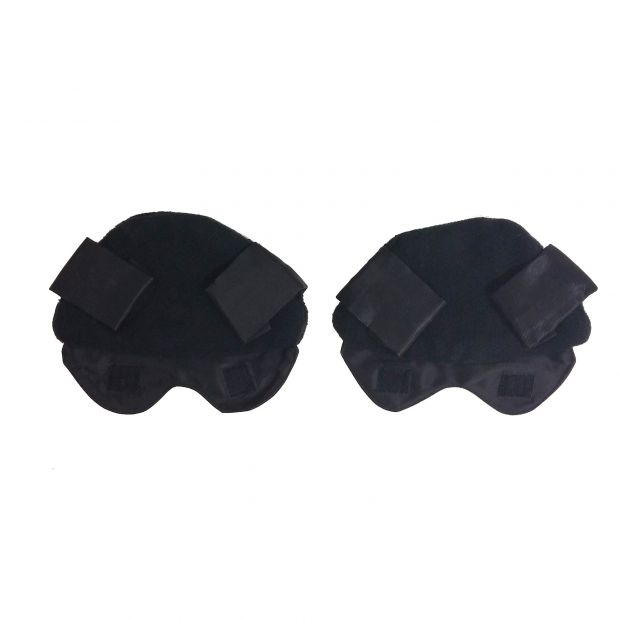 Ear warmers for helmets