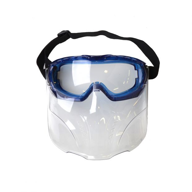Goggles with mask