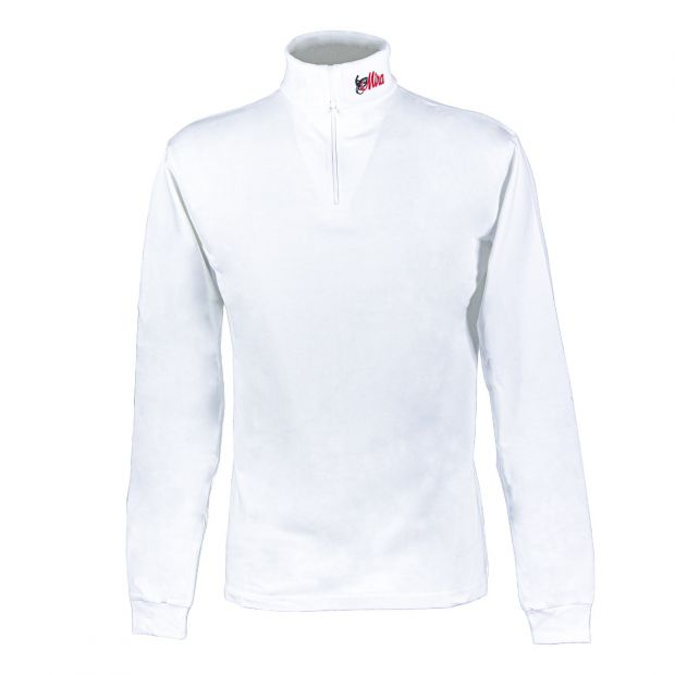 Mira Polo long sleeves with zipper