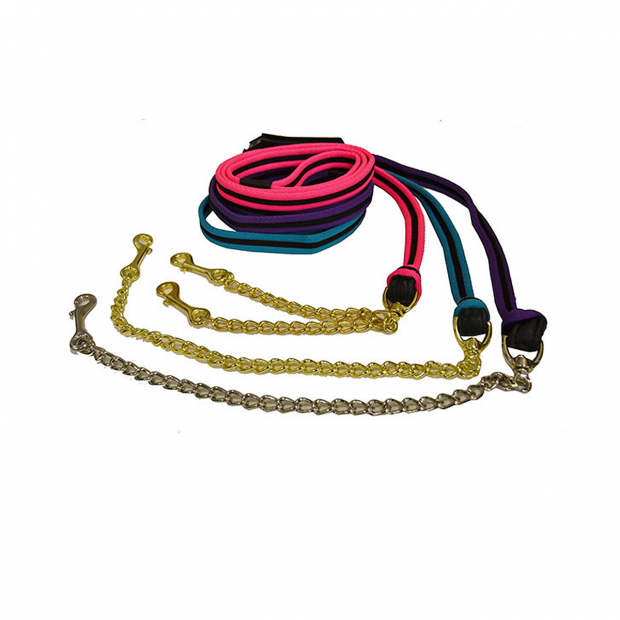 Equitare Soft Lead rope with chain