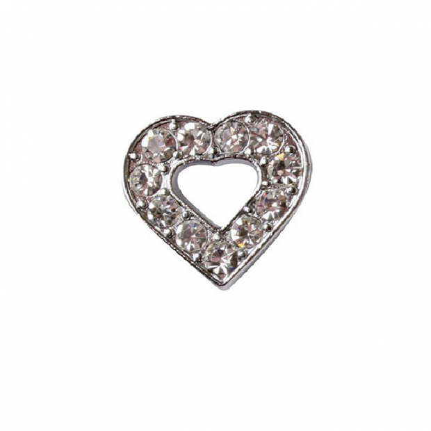 Strass part heart