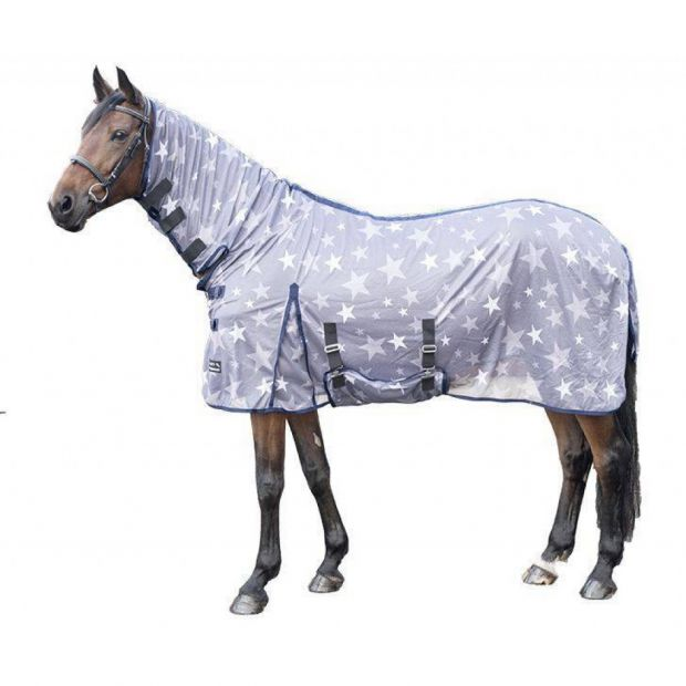HKM Stars Combo Fly rug with neck
