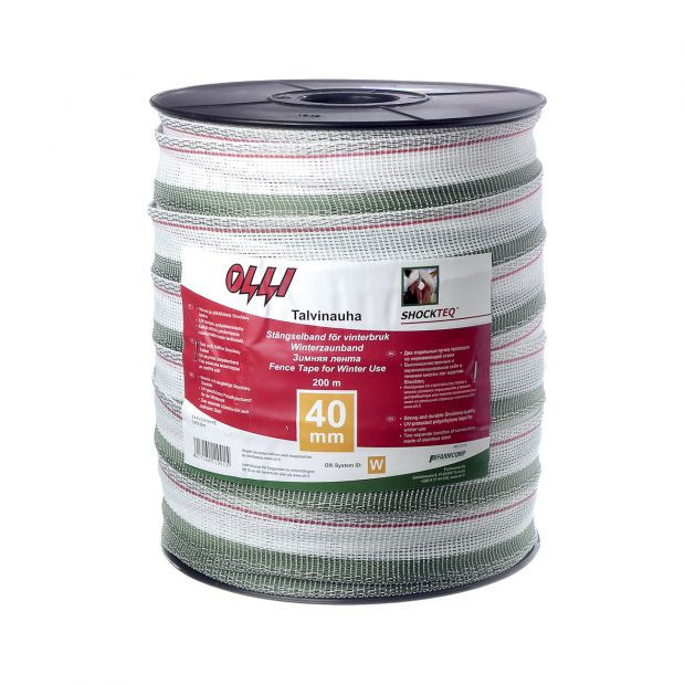 Olli Shockteq Winter tape 40 mm 200m