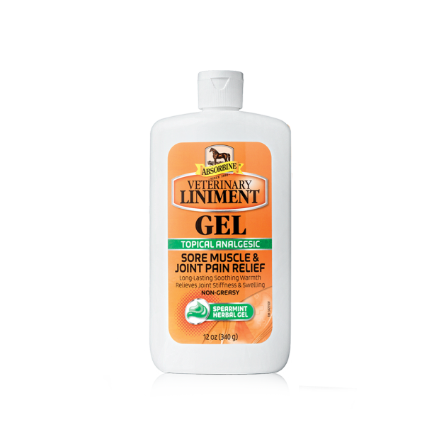Absorbine Veterinary Liniment Embrocation Gel 340g