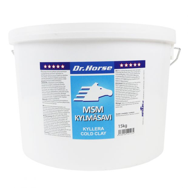 Dr. Horse MSM-clay 15 kg