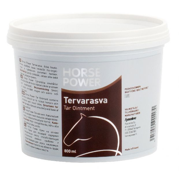 Horse Power Skin and wound cream with tar