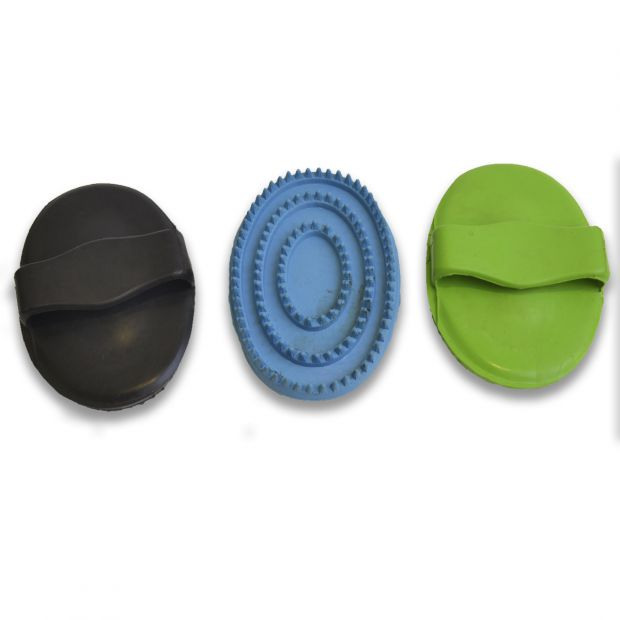 Equitare Rubber curry comb