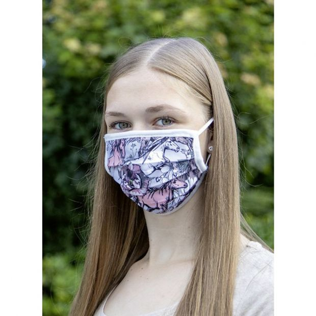HKM Face Mask printed fabric pc