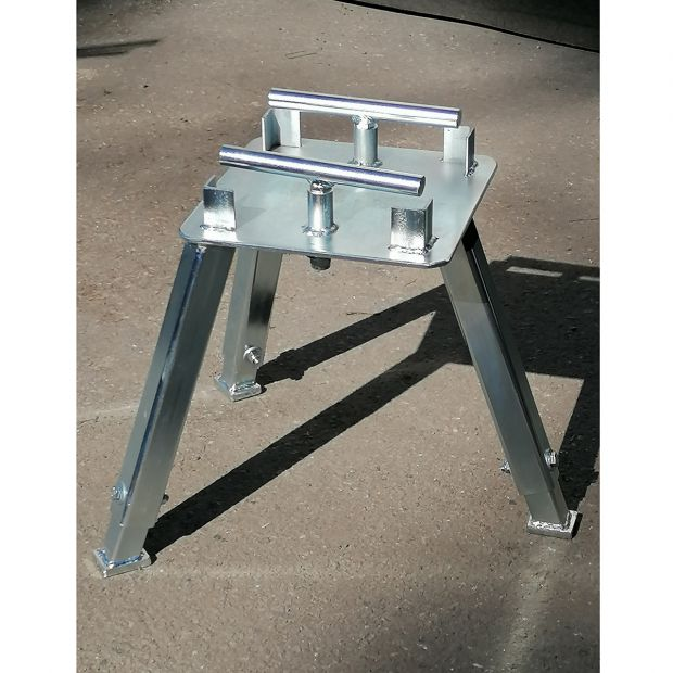 TR Anvil stand adjustable for 90 kg O'Dwyer anvil