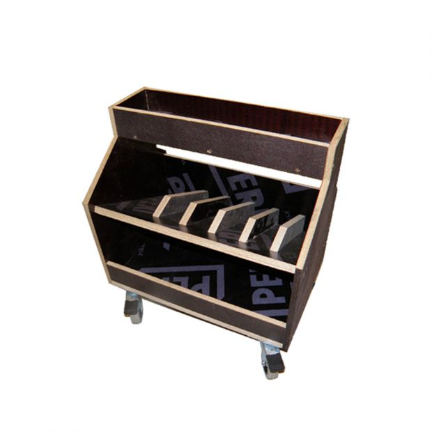 Tool box to farrier plywood