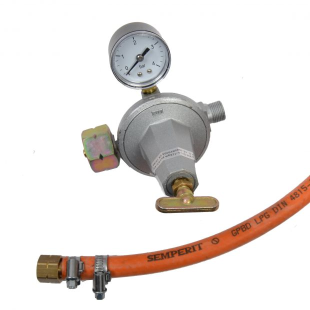Sell pressure adjuster with hose