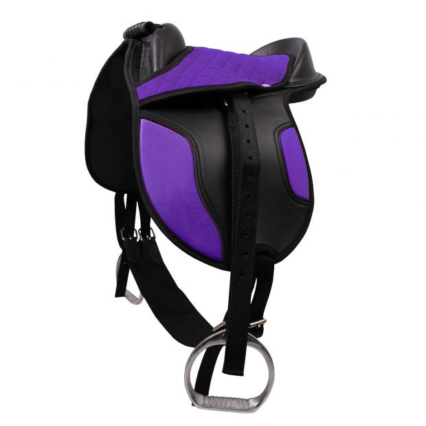 QHP Shetland pony saddle with accessories
