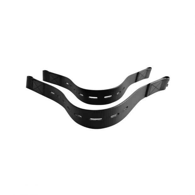 Stirrup straps synthetic for small pony pair