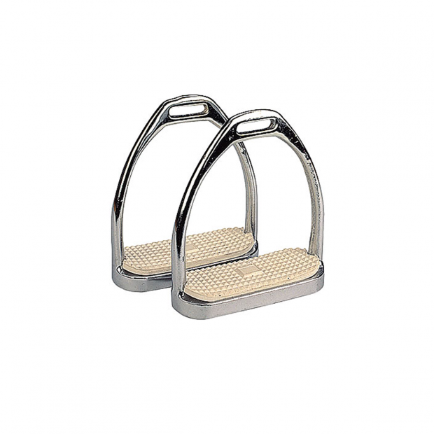 Equitare Stirrups stainless steel