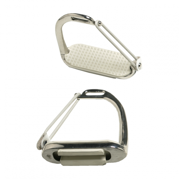 Equitare Safety stirrups stainless steel