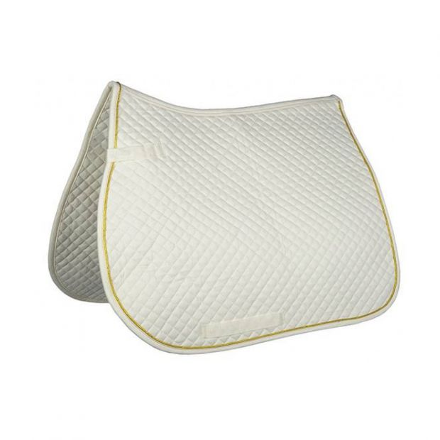 HKM Saddle pad with piping general