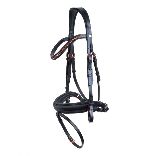 HG Cryll bridle with supergrip reins