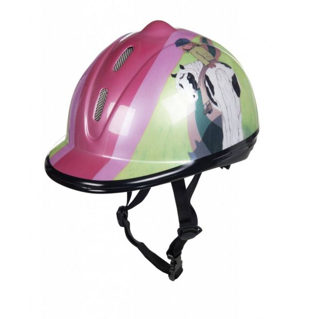 HKM New Jump into my heart Riding helmet