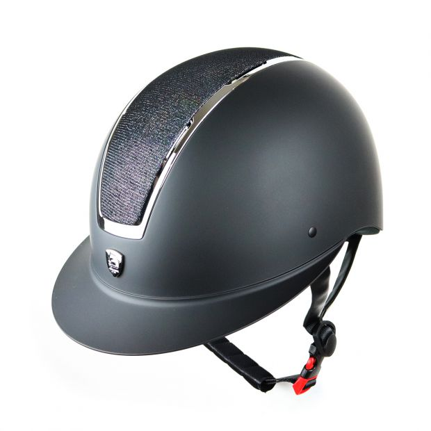 Tattini Wide Visor Riding helmet adjustable