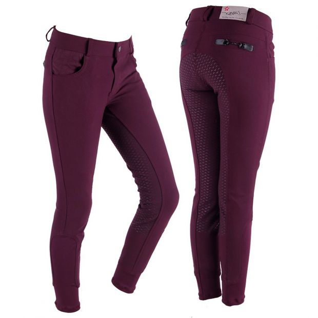 QHP Charlene Junior anti-slip Breeches