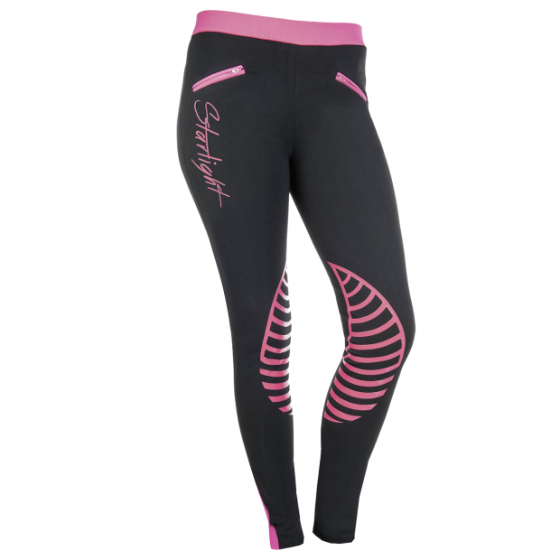HKM Starlight Riding leggings with silicone knee grip