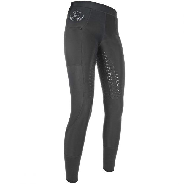 HKM Mesh Leggings silicone full seat