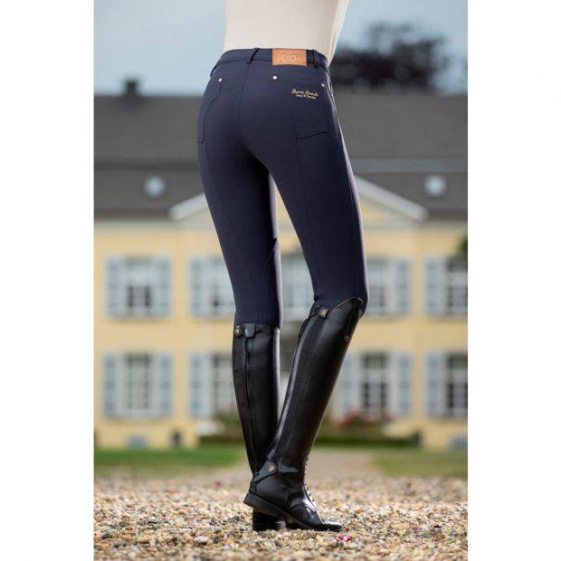 Lauria Garrelli LG Basic riding breeches with fabric knee patches
