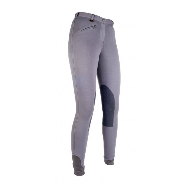HKM Penny Easy riding breeches with knee patches