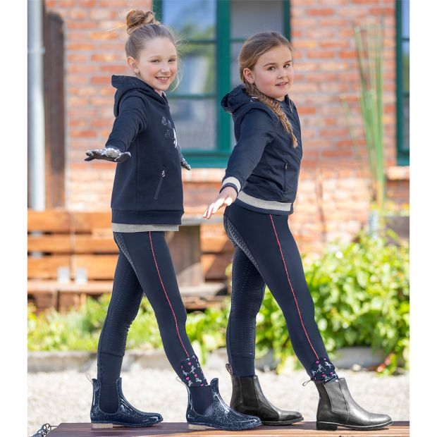 ELT Denali Riding leggings with silicone full seat for kids