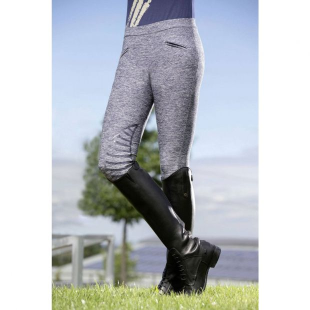 HKM County Leggings with silicone knee