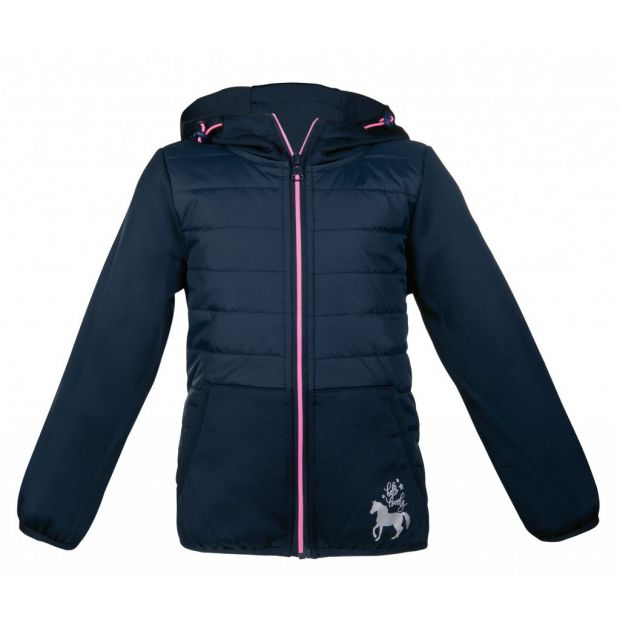 HKM Champ New Softshell quilted jacket children